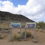 Signs Posing, Petroglyph National Monument