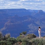 Woman With Grand Canyon, Grand Canyon National Park